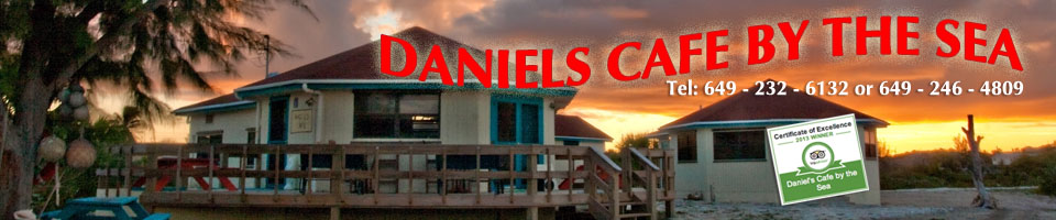 Daniels Cafe by the Sea in Conch Bar Middle Caicos turks and caicos islands
